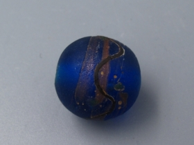 蓝色琉璃珠